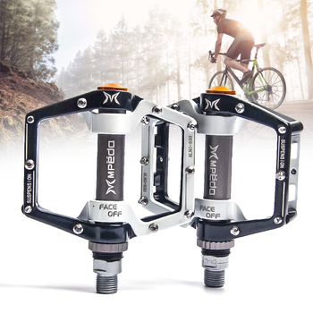 Flat Bike Pedals MTB Road1 Pair of Bearings Bicycle Pedals Mountain Bike Pedals Wide Platform Pedales Bicicleta Accessories Part mtb road bicycle pedals 3 sealed bearings bicycle pedals mountain bike pedals wide platform pedales anti slip and rust proof