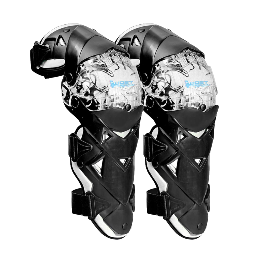 Pair Motorcycle Racing Riding Knee Guard Protective Protectors Pads Armor Kneepads Gear
