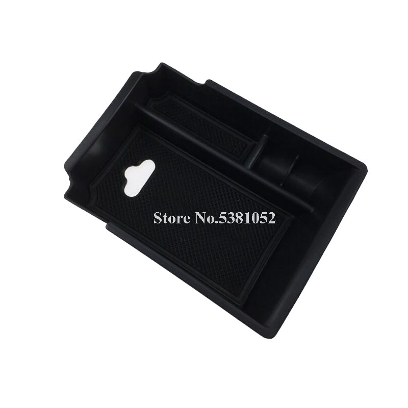 Car Interior Console Central Armrest Storage Box Container Tray For <font><b>Infiniti</b></font> QX30 <font><b>Q30</b></font> Q30S Car <font><b>Accessories</b></font> 2016 2017 2018 image