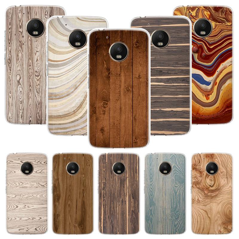 Wood Grain Abstract Texture Case For Motorola Moto G8 G7 G6 G5S G5 E6 E5 E4 Plus G4 Play Power X4 One Action Phone Cover Coque