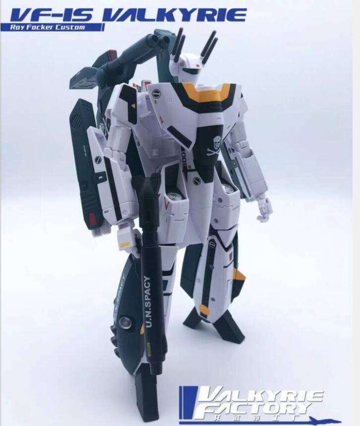 New Valkyrie Factory 1/60 VF-1S & SSP Backpack Full Set Toy Ko