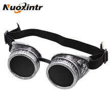 Get more info on the Nuoxintr Silver Retro Goggles Heavy Metal Steampunk Gothic Style Goggles Welder Glasses Welding Labor Protective Goggles