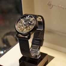 Роскошные брендовые дорогие мужские часы, автоматические механические качественные часы, римские швейцарские часы с двойным турбийоном, мужские часы с кожаным ремешком, 2020