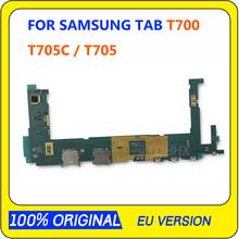 Oryginalna pełna praca odblokować płyta główna płyta główna obwodów do Samsung Galaxy Tab S 8 4 T700 T705C T705 WIFI elektroniczny Panel tanie tanio TDHHX For Samsung Galaxy Tab S 8 4 T700 T705C T705 Motherboard Wewnętrzny Original Disassemble Unlocked and used In Stock