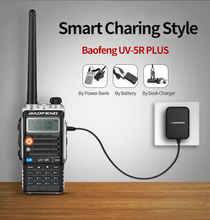 цена на 1PCS Baofeng Walkie Talkie UV-5R PLUS 128ch Dual Band High Power Two Way Radio
