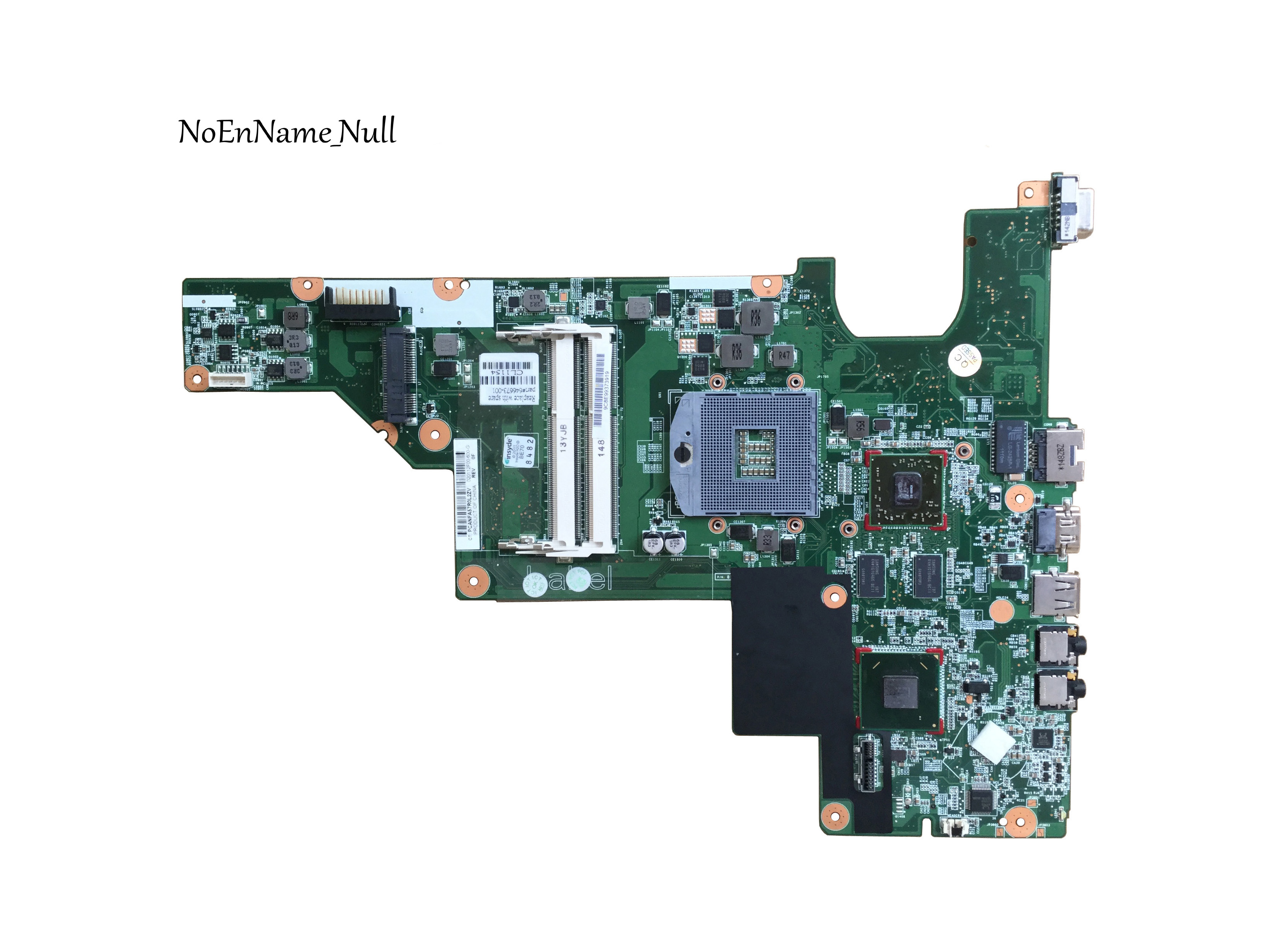 646673-001 Motherboard DDR3 Free Shipping HM65 For HP CQ43 431 Laptop Motherboard Tested 100% Work