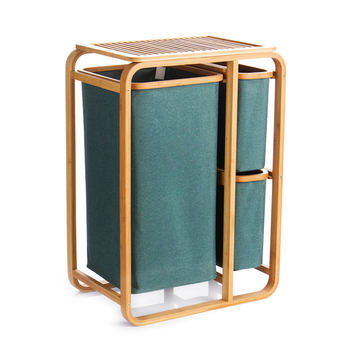 Oxford cloth hamper dirty clothes storage rack laundry basket waterproof   creative fabric large