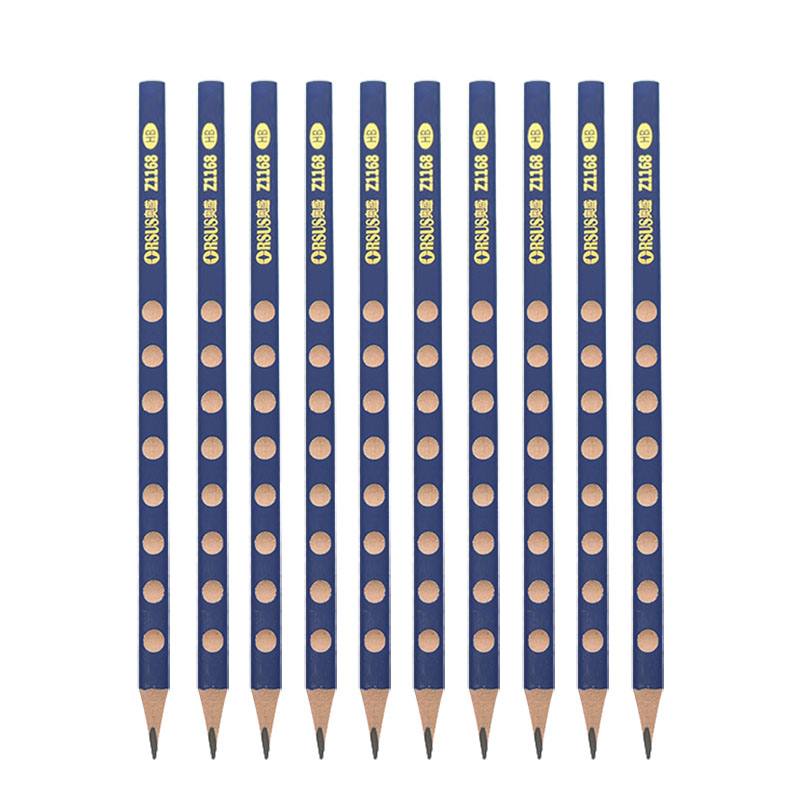 10 Children'S Environmental Protection HB / 2B Triangle Pencil Painting Writing Standard Pencil Posture Correction Grip Pencil