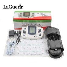 Estimulador muscular elétrico, conjunto de acupuntura com 8 elétrico para relaxamento do corpo, massageador muscular + caixa