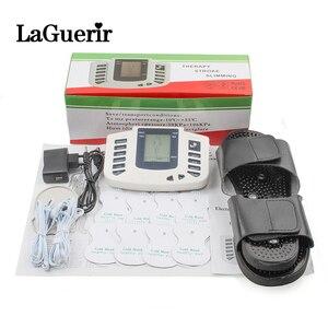 Image 1 - Estimulador muscular elétrico, conjunto de acupuntura com 8 elétrico para relaxamento do corpo, massageador muscular + caixa