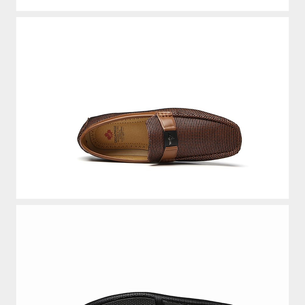 Ha58ef505b0424f81a73b42e884be5311X Men Loafers Shoes Autumn Fashion Boat Footwear Man Brand Moccasins Men'S Shoes Men Slip-On Comfy Drive Men's Casual Shoes