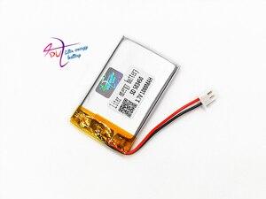 Image 2 - JST batería recargable de polímero de litio para auriculares Mp3, XH, 2,54mm, 503450, 523450, 3,7 V, 1000MAH, almohadilla para auriculares, DVD, cámara bluetooth