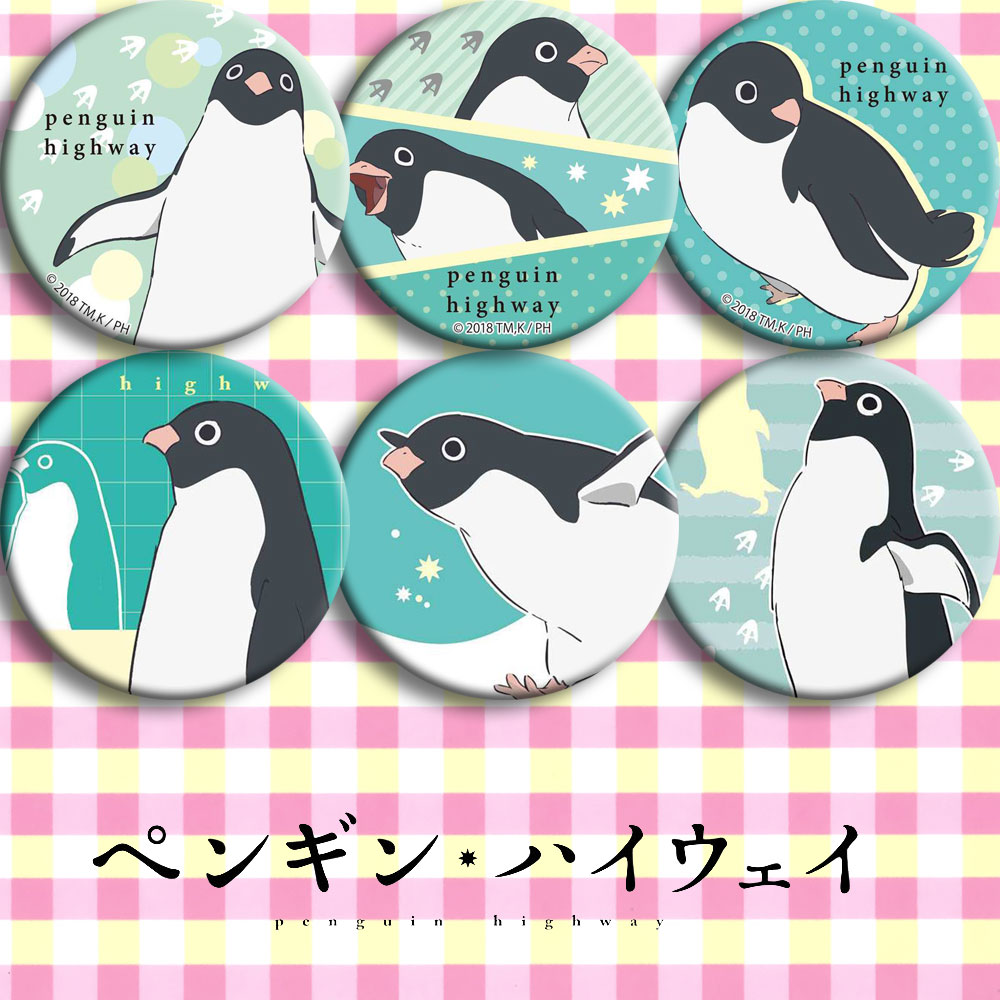 Penguin Highway Anime Badge 58mm Theatrical Edition Second Yuan Peripheral Gift Custom Poster Customes Badge