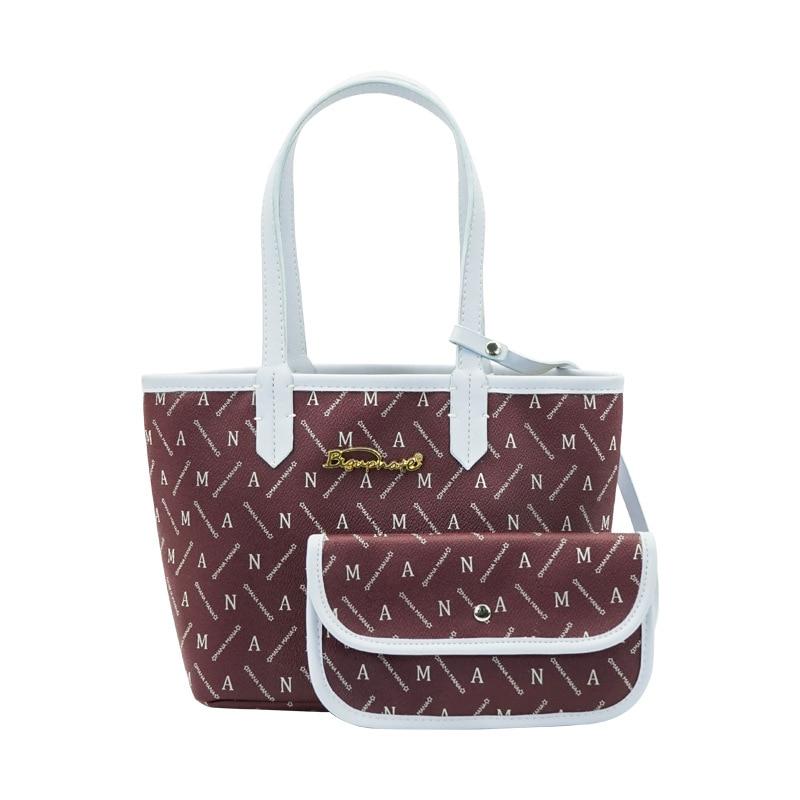 Pink Sugao women shoulder bag purses and handbags luxury tote bags for women 2PCS composite bag luxury brand bag women handbags