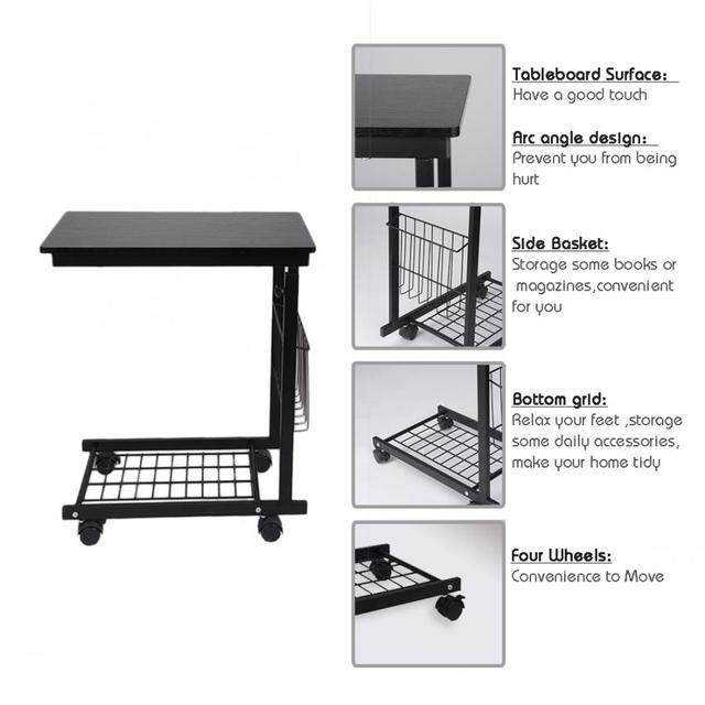 Business Office Furniture Laptop Desk Height Adjustable Laptop Table