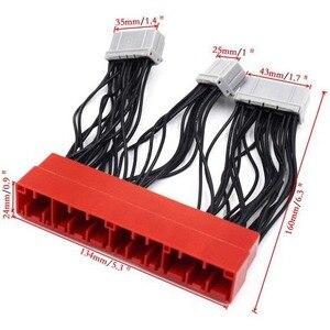 Image 2 - Honda için OBD2A to OBD1 tak ve çalıştır Jumper dönüşüm sürüş bilgisayar kablo demeti ihracat ürünleri