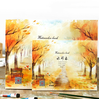 Watercolor Paper Aquarelle Of Stationery Aquarel Paper For Drawing Water-color Sketchbook  Student Drawing Paper Of Art Supplies