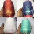 450g Gold Silber Farbe Linie Metallic Weben Gewinde Glänzende Wirkung Schmuck Themen DIY Schal Pullover Weben Garn XJ90
