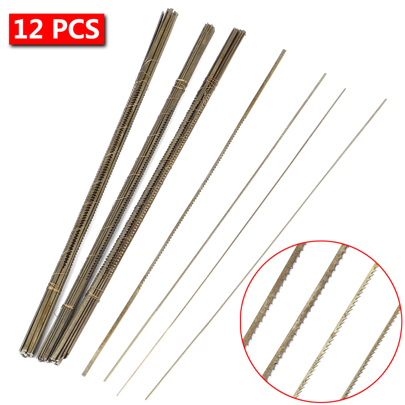 12pcs Glardon Vallorbe Sawblades 0/0-8/0 Jewelry Saw Blades Swiss Sawblades Jewelry Tools And Equipment Jewelry Tools