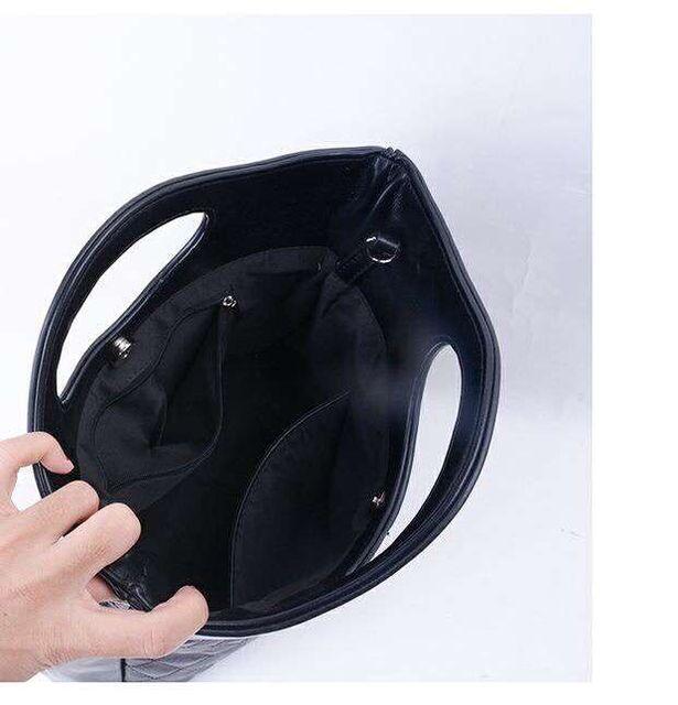 2019 new fashion women  handbag   high quality real leather  bag free shipping