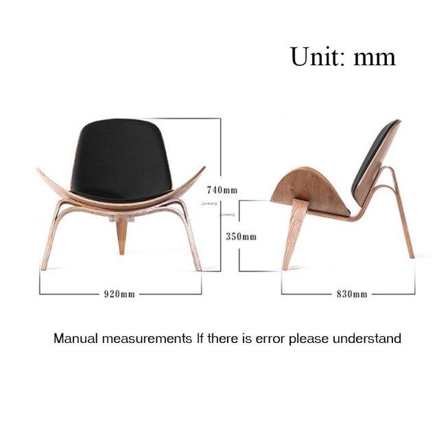 Three-Legged Shell Chair  5
