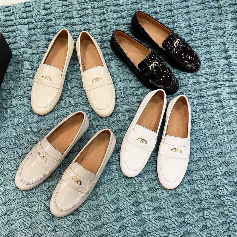 Korean Womens Flats Moccasins Driving Loafers Slip On Pumps Casual Shoes Plus Sz