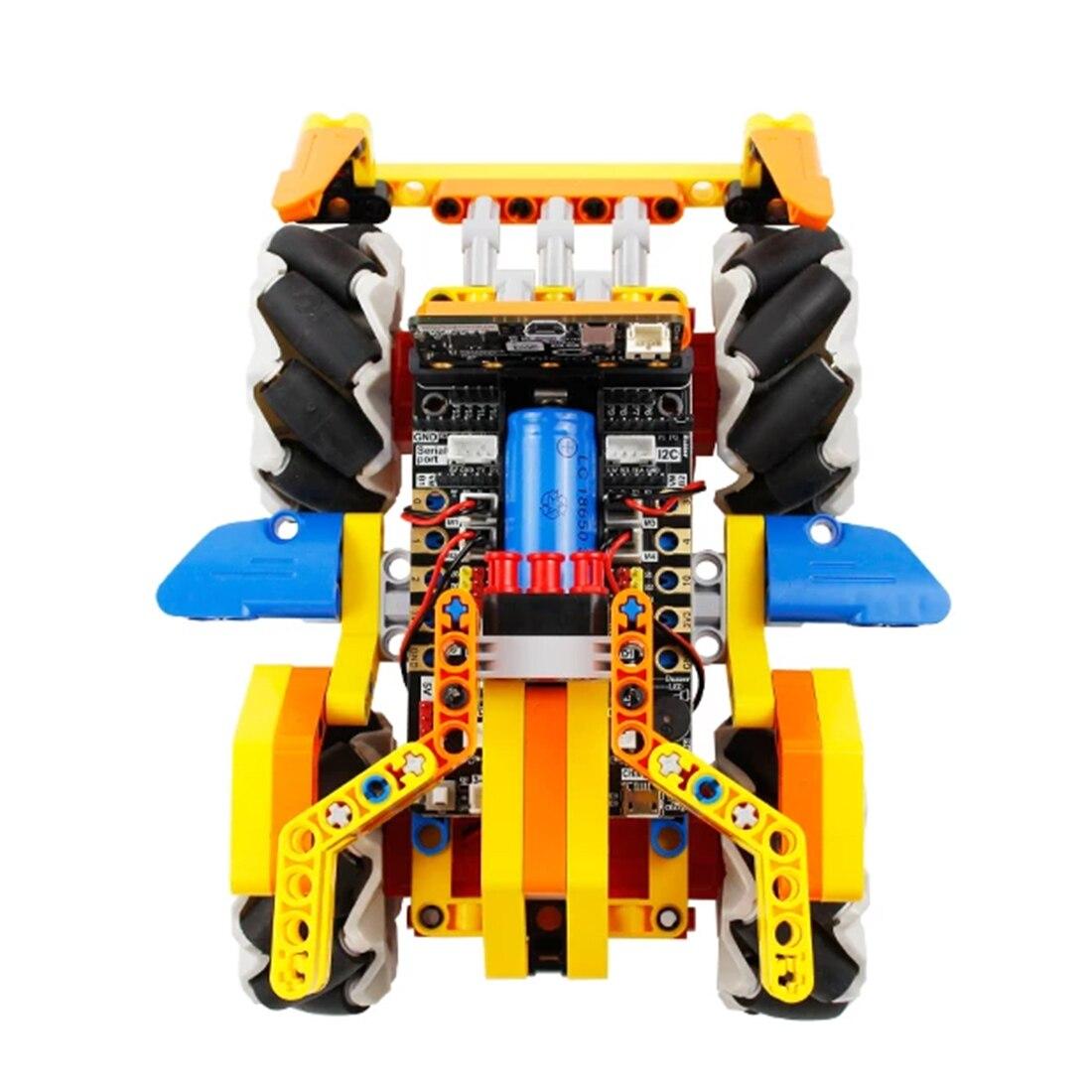 mecanum roda robo carro para micro bit nenhum micro bit board 05