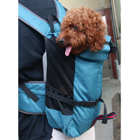 Canvas Outdoor Soft Pet Carrier Dog Backpack For Small Animal Bicycle Bike Travel Dog Backpack For Large Dog