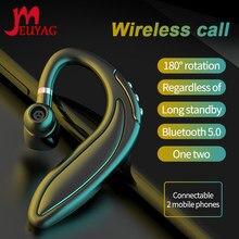 MEUYAG Empresa de redução de ruído fone de ouvido sem fio Bluetooth 5.0 fones de ouvido Estéreo com micphone handsfree telefone para telefone inteligente