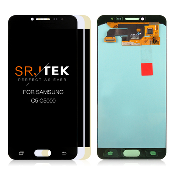 5.2'' AMOLED LCD For SAMSUNG Galaxy C5 LCD Display Touch Screen Digitizer Assembly For Samsung Galaxy C5 C5000 Replacement Parts