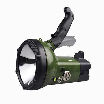 High power 220W xenon searchlight external 12V 160W searchlight strong light long shot 100W portable search light