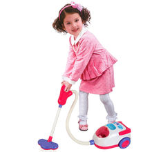Детские развивающие игрушки электрический пылесос игрушка для детей легкий бытовой Детский инструмент для чистки игрушки