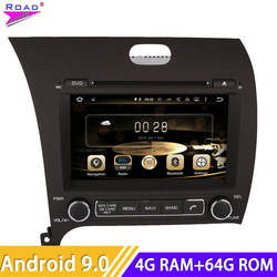 Roadlover Android 8,0 Автомобильный мультимедийный dvd-плеер радио для KIA Cerato K3 Форте 2013-стерео gps навигации Automagnitol 2 din MP3