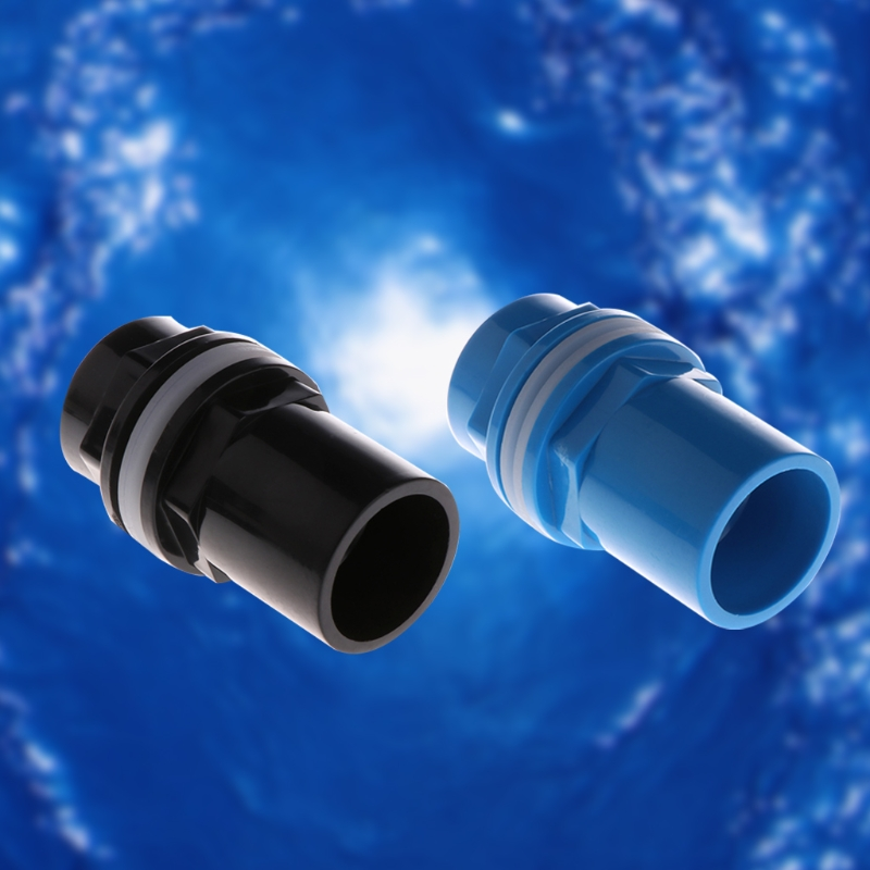 Aquarium Inlet Outlet Fitting Head Water Pipe Fitting Connector 20/25/32/40/50mm 50PB