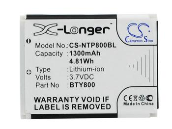 Cameron Sino Battery for CipherLab 8200 CPT-8300 8300 8000 8230 Replacement BA-80S1A2 KB1B371200005 1300mAh image