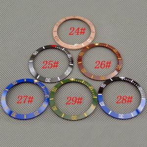 Image 3 - Accesorios de reloj 38mm bisel ajuste GMT automático 40mm hombres reloj bisel ajuste relojes parnis