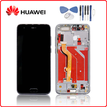 Original 5.15LCD For HUAWEI Honor 9 LCD Touch Screen with Frame For HUAWEI Honor 9 Display STF-L09 STF-AL10 STF-AL00 туника stf