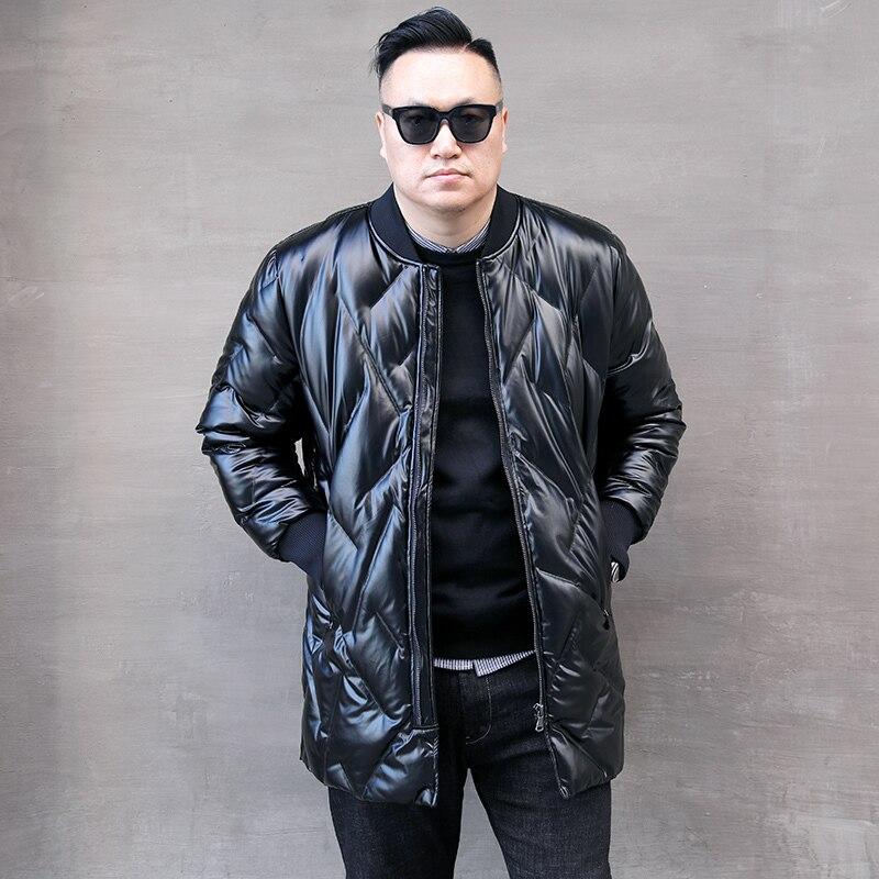 White 90% Duck Down Jacket Winter Coat Men Korean Fashion Plus Size Puffer Jacket Men Warm Parka Casaco 8833 YY1332