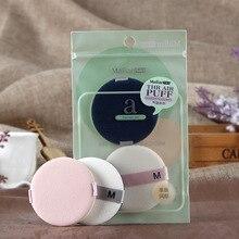 Beauty Tools Malian Air Cushion Puff BB Cream Puff Foundation Makeup Sponge round Two Pack rorec air cushion bb
