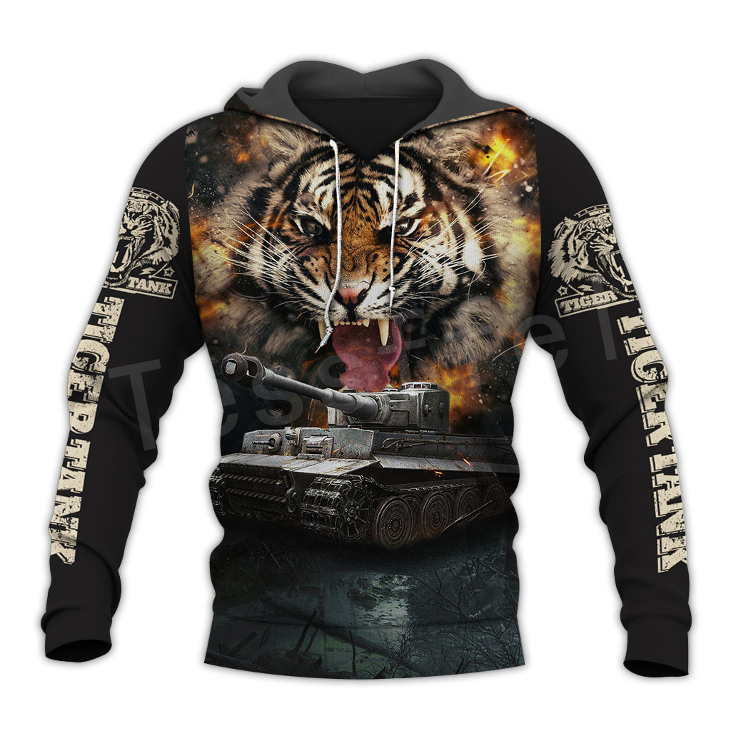 Tessffel Hot Games World Of Tanks Animal Tank Funny NewFashion Tracksuit 3DPrint Zipper/Hoodies/Sweatshirt/Jacket/Men/Women T-2