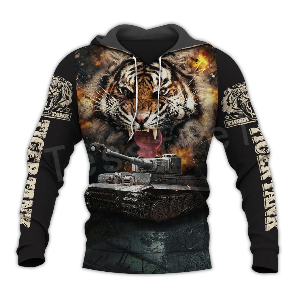 Tessffel Hot Games World Of Tanks Animal Tank Funny NewFashion Tracksuit 3DPrint Zipper/Hoodies/Sweatshirt/Jacket/Men/Women T-2