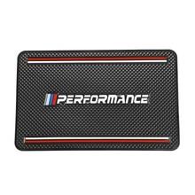 Автомобильный нескользящий коврик, держатель для телефона GPS, нескользящий коврик для BMW M Power Performance X1 X3 X4 X5 X6 X7 E46 E90 F20 E60 F10 F30 E48