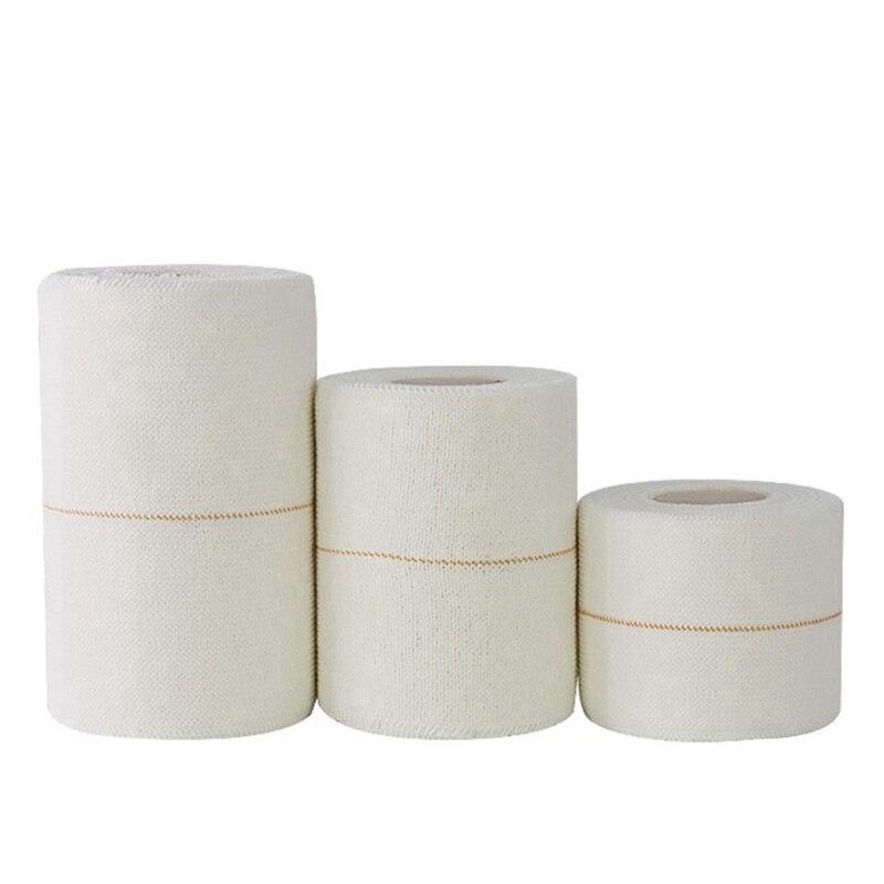 4.6M 50/75/100mm Cotton White Medical Premium Adhesive Tape Sport Binding Physio Muscle Elastic Bandage Strain Injury Support