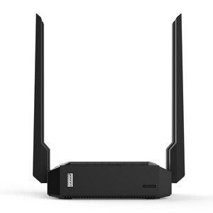 Image 2 - Cioswi we3826 omni ii firmware roteador wi fi sem fio para usb 3g 4g modem omni 2 4 antenas 300mbps 802.11b/g/n openwrt wi fi