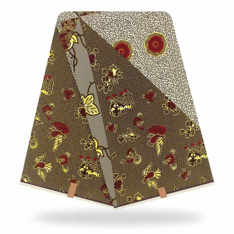 High Quality African Ankara Dutch wax African Real Guaranteed Dutch Dutch wax Wax 6 Yards/Lot For Women Dress