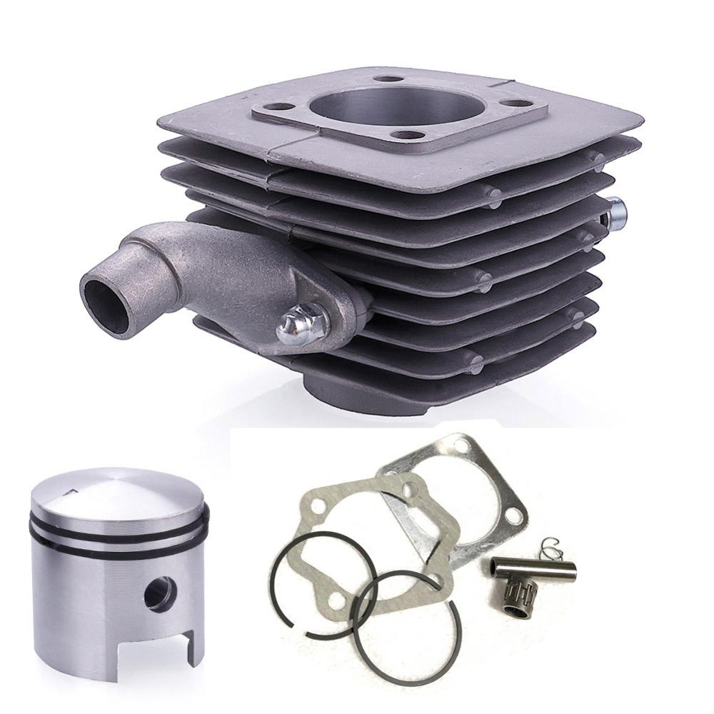 80cc Engine Motor Cylinder Piston Pin Set 40mm Fit For Motorized Bicycle Bike Motor