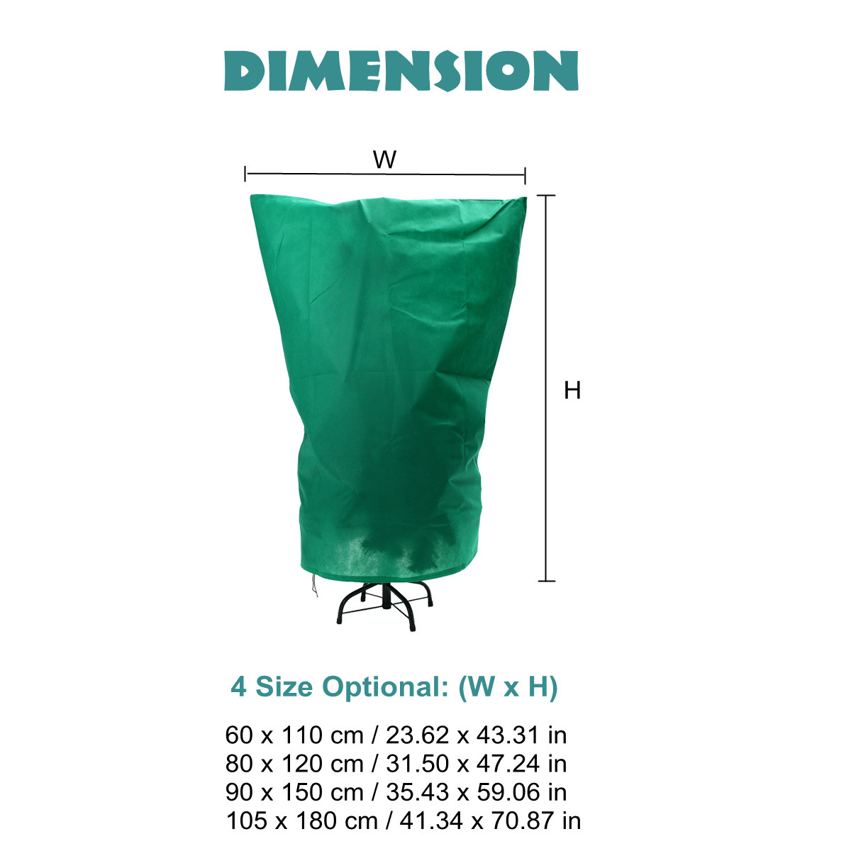 New 4 Size Plant Protection Bags Winter Plants Cover Garden Tool Plant Cover Bag Non woven Fabrics Anti Insect Organic Net Frost|Plant Covers| |  - title=