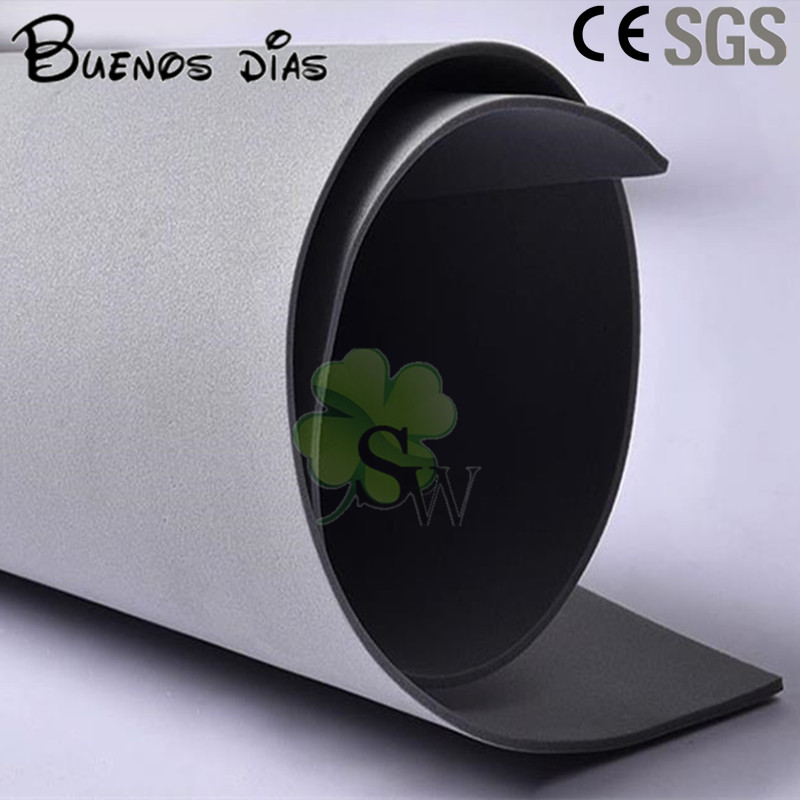 Buenos Dias Environmentally-friendly Grey Color Craft Eva Foam Sheets,Easy To Cut,Punch,Handmade Cosplay Material Size 50*200cm