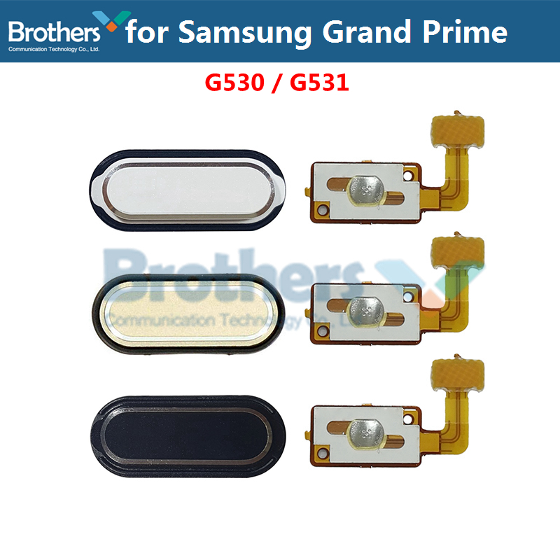 Home Flex Cable For Samsung Grand Prime G530 G531 SM-G530 G530H G531H G531F Home Button Flex Cable Phone Replacement Repair Part