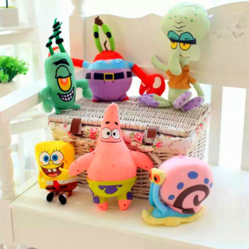 SpongeBob Doll Patrick Plush Toy Cartoon Dolls Lovely Soft Toys Boutique Birthday Gift For Girl Boy Creative Home Decoration 40 100cm giant cute baby toy spongebob patrick star plush toys cartoon soft animal pillow anime doll children kids birthday gift